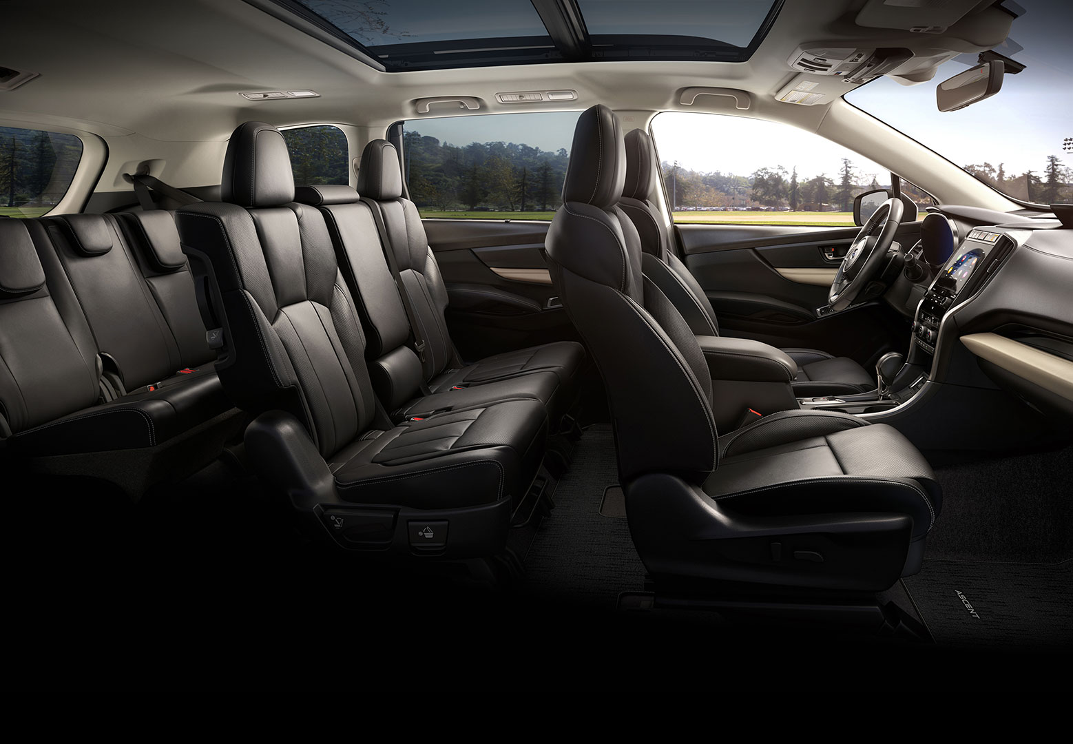 Black Leather Interior Pictures...Finally - Subaru Ascent ...