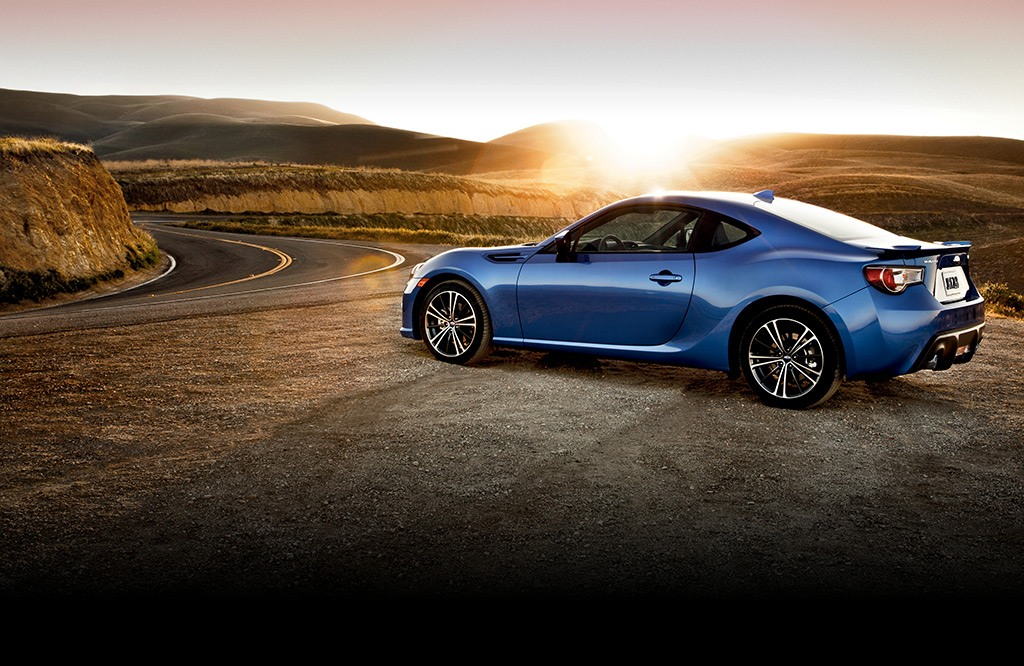 BRZ Limited in WR Blue Pearl.