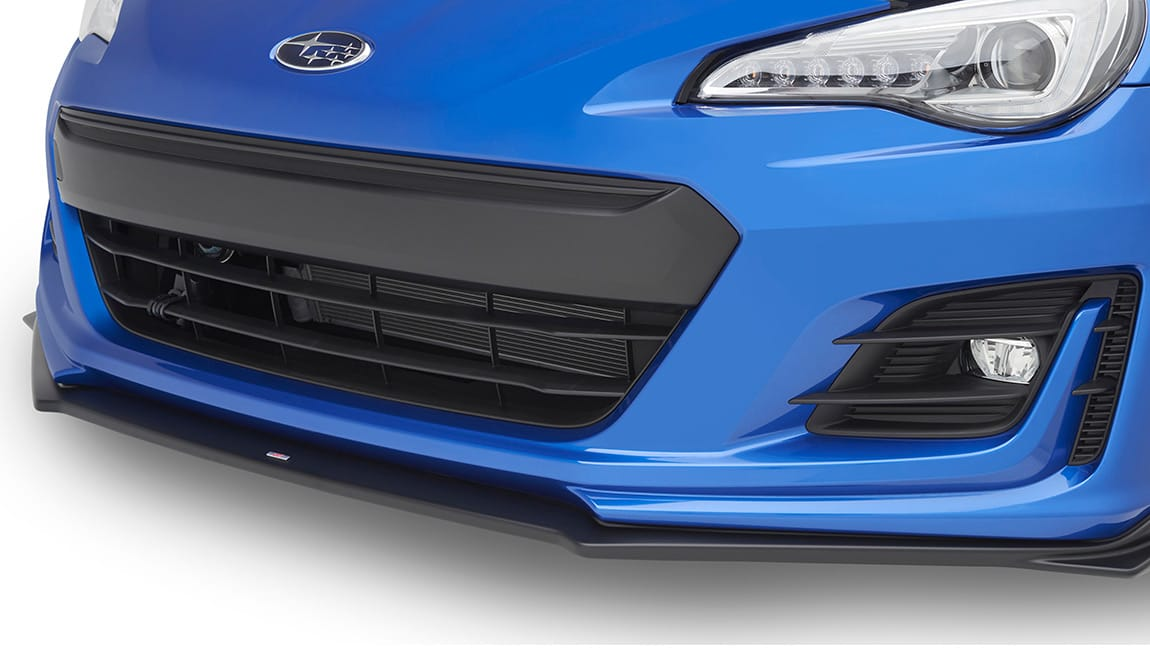 STI Front Under Spoiler gives the BRZ a mean, ground-hugging look.