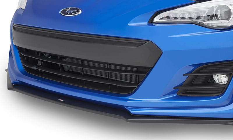 <b>STI Front Under Spoiler</b><br><br> STI Front Under Spoiler gives the BRZ a sportier look and better aerodynamic performance.