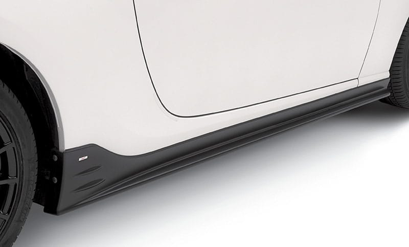 <b>STI Side Under Spoiler</b>  Add a stylish, ground-hugging look down the rocker panels of the BRZ. Kit includes both left and right side under spoilers.