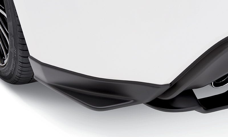 <b>STI Rear Quarter Under Spoiler</b>  Complete the look on the side of the BRZ with the addition of the rear quarter under spoilers. Kit includes both left and right rear quarter under spoilers.