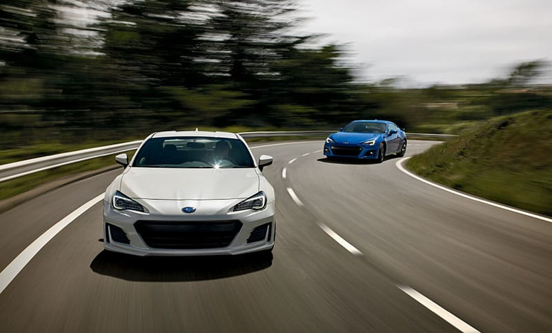 <b>Handling</b>  In sweepers or hairpins, the BRZ listens to your hands with startling precision and answers back with exhilarating immediacy. It's an experience that allows nothing to unplug the connection between you, your car and the road.
