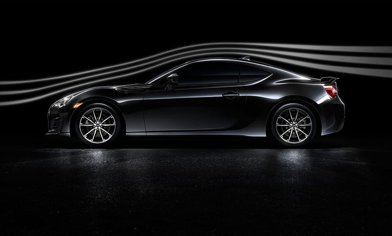 <b>Make the wind your friend.</b>  To a sports car, wind is like weight—the more of it you have to move, the more it takes from your ability to perform. So the BRZ was designed to cut through the air as efficiently as possible. Features like a channeled roof design, aerodynamic underbody panels and rear diffuser help improve airflow and reduce drag, sharpening the performance you'll feel.