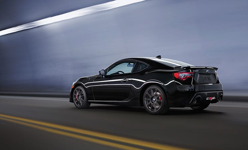 The available Performance Package takes the BRZ to the next level—it handles better, stops faster and looks meaner<sup>7</sup>. <br><br>