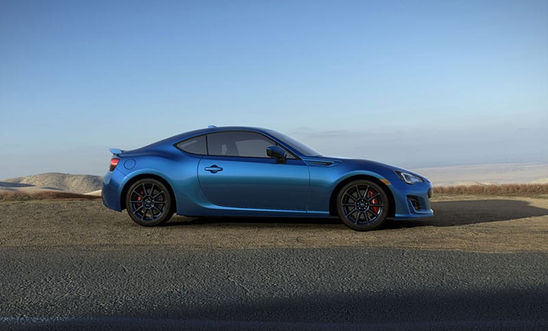 Brz Limited With Performance Package Shown