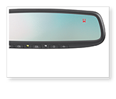 Auto-dimming Mirror with HomeLink<sup>®</sup>