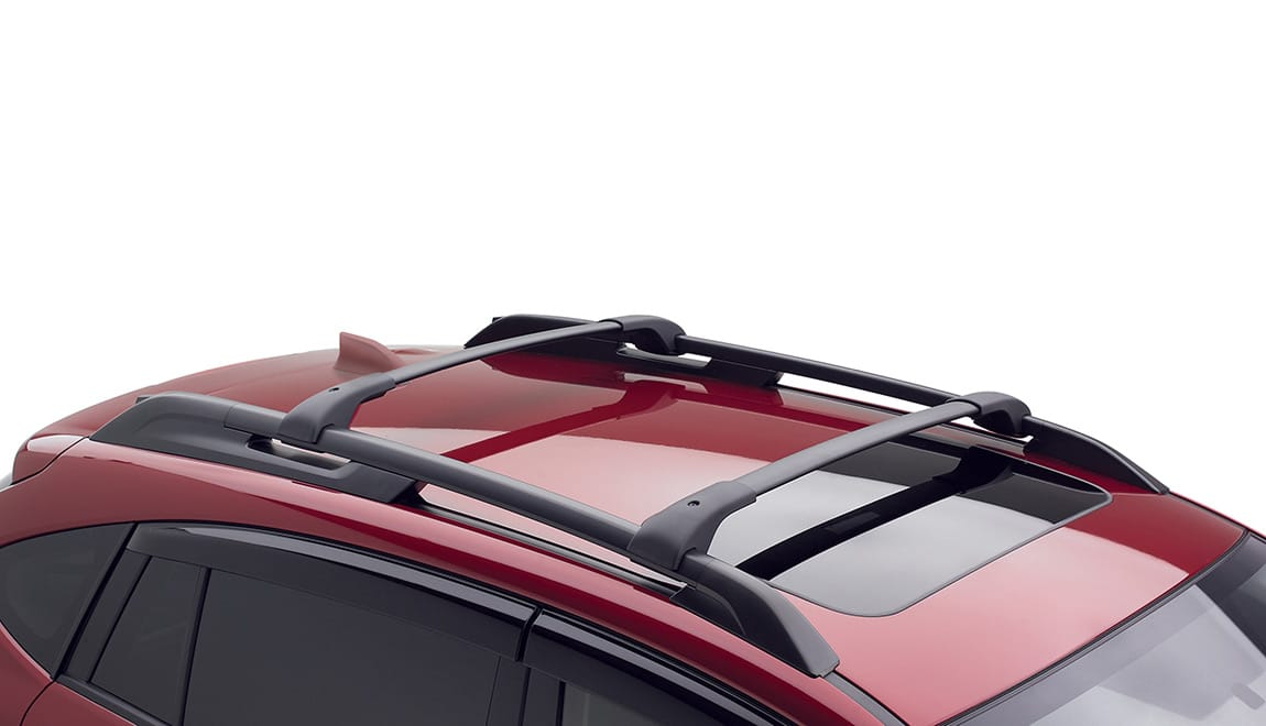 Increase your vehicle's cargo-carrying capabilities by adding a crossbar set. These aero-style crossbars may be used in conjunction with Genuine Subaru roof attachments and carriers.