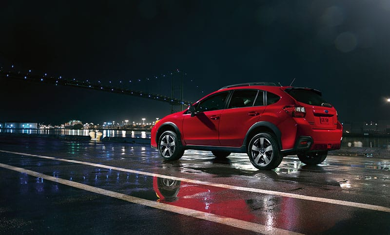 <b>Crosstrek Special Edition</b>  Ready for whatever you are, the 2017 Crosstrek Special Edition sports bold looks to match its ambitious nature. From the pavement up, you'll find unique 17-inch alloy wheels, distinctive black badging, mirrors with integrated turn signals and a sporty rear spoiler – all in Pure Red or Crystal Black Silica. Comfort and style own the cabin with exclusive aluminum-alloy pedals, red and gloss black trim, a leather-wrapped shifter handle, red stitching throughout and Automatic Climate Control for your customized comfort.