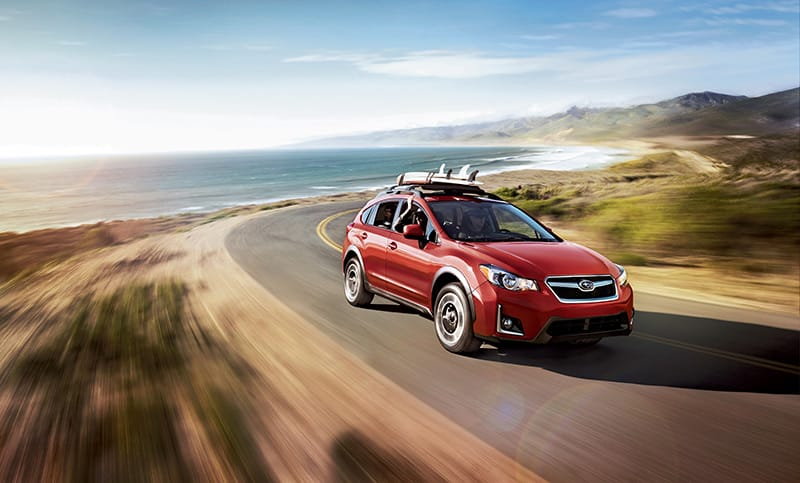 <b>Range</b>  A lot can happen in 500 miles<sup>7</sup>, especially in a crossover this capable. Since the Crosstrek earns up to 33 highway MPG<sup>1</sup>, you won't have to fill it up often and you'll have a lot of options on a full tank.