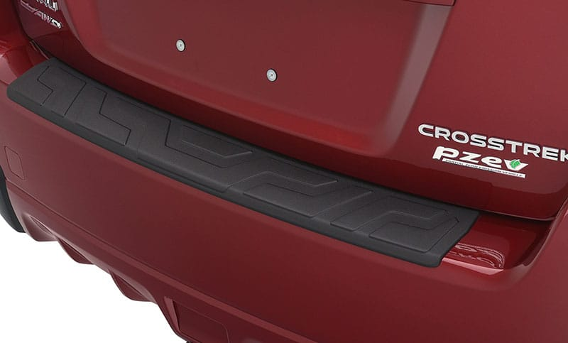 <b>Rear Bumper Cover</b>  Helps protect the upper surface of the painted bumper from scratches and dings.  <i>For a complete list of available accessories, visit your local Subaru retailer or visit Subaru.com.</i>