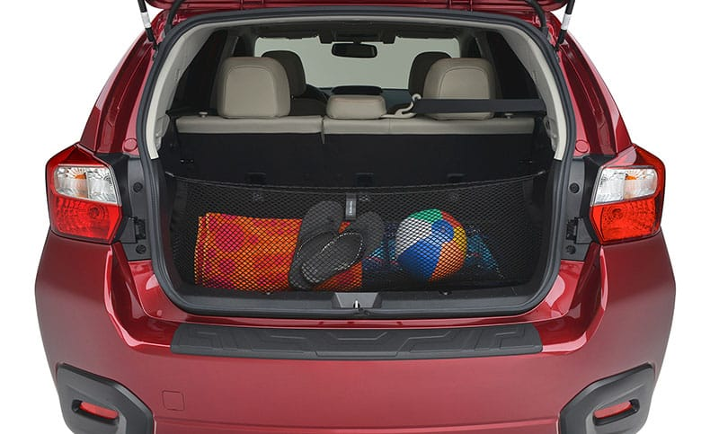 <b>Cargo Net</b>  Neatly holds cargo and prevents it from sliding while the vehicle is in motion.  <i>For a complete list of available accessories, visit your local Subaru retailer or visit Subaru.com.</i>