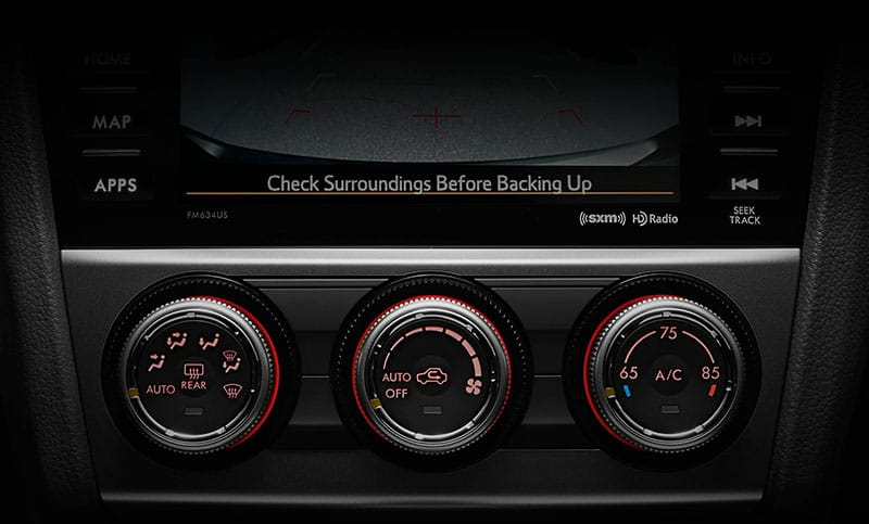 <b>Automatic Climate Control</b>    Set your desired temperature with the available automatic climate control, and it'll automatically adjust the air conditioning and heater to keep the interior just the way you like it.