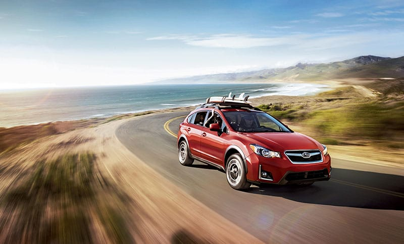 Let it fly. Subaru Symmetrical All-Wheel Drive keeps the drive fun with control in the corners and confidence in almost any weather.