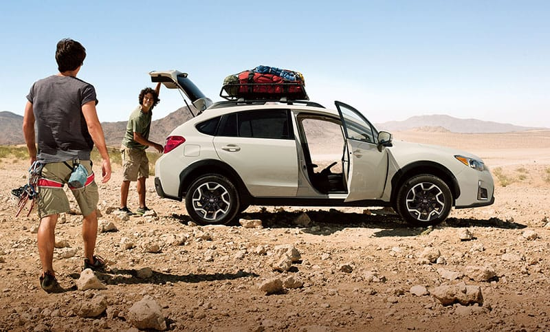 <b>Versatility</b>  If you can plan it, the Crosstrek can help you do it.  With an impressive 51.9 cubic feet of space with the rear seats down and 60/40-split flat-folding rear seatbacks, there is plenty of room and options for gear and passengers alike.