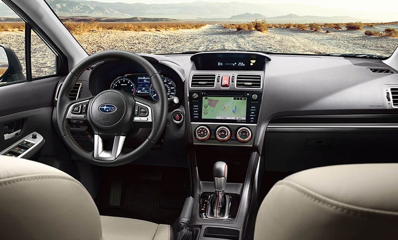From Rich Materials To Advanced Technology The Inviting Interior Of 2017 Crosstrek Keeps You