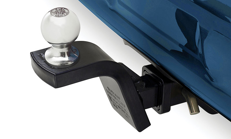 <b>Trailer Hitch</b><br><br>Rated at 200 lbs tongue weight with 1,500 lbs of towing capacity. Engineered to the same rigorous standards as the rest of the Crosstrek.<br><br><i>Hitch ball not included. Trailer brakes may be required.</i>