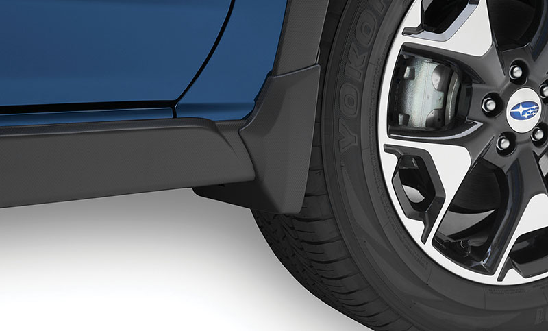 <b>Rear Seatback Protector</b><br><br>Provides additional protection to the rear seatbacks when lowering the seats to transport larger cargo.<br><br><i>For a complete list of available accessories, visit your local Subaru retailer or visit Subaru.com.</i>