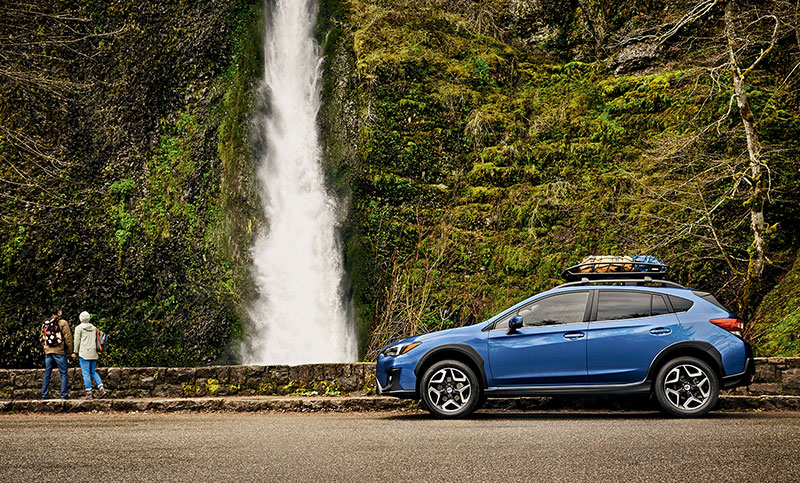 The Subaru Crosstrek has the capability and cargo capacity to help you pursue things truly worth pursuing.