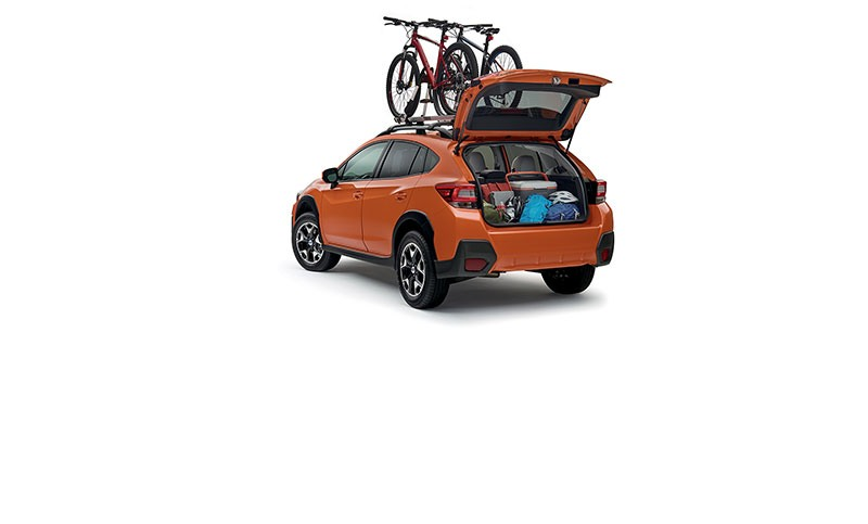<b>Versatility</b><br><br>If you can plan it, the Crosstrek can help you do it.  With an impressive 55.3 cubic feet of space with the rear seats down and 60/40-split flat-folding rear seatbacks, there is plenty of room for gear and passengers alike.