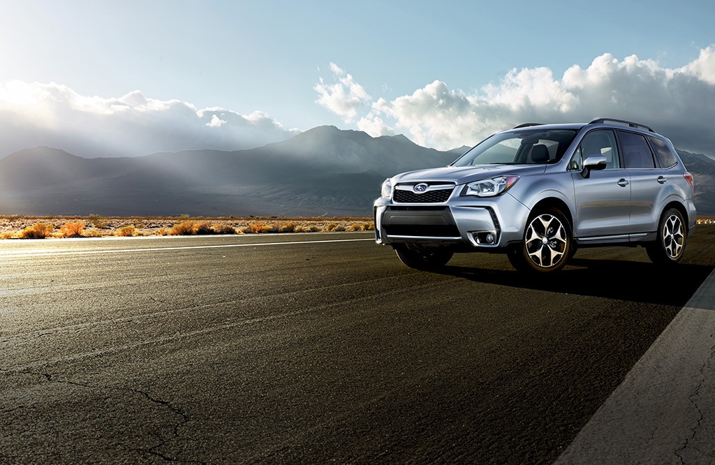 Forester 2.0XT Touring in Ice Silver Metallic with optional equipment