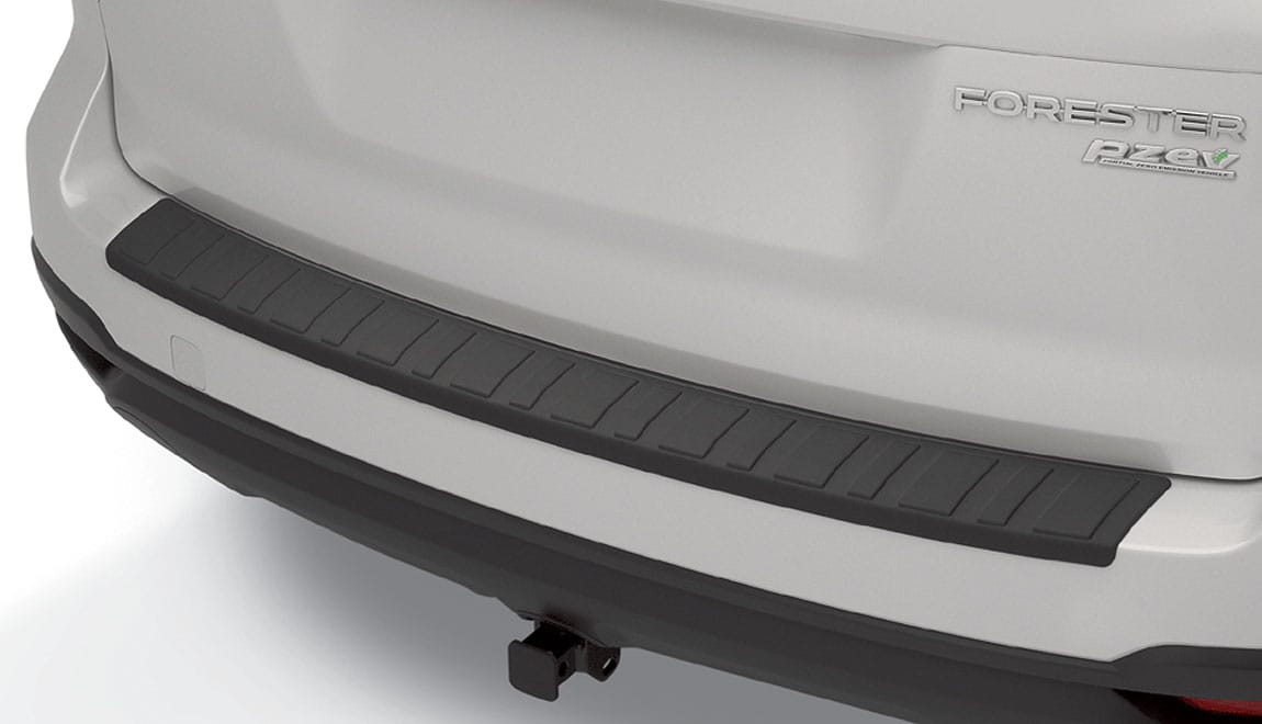 Helps protect the upper surface of painted rear bumper from scratches and dings.