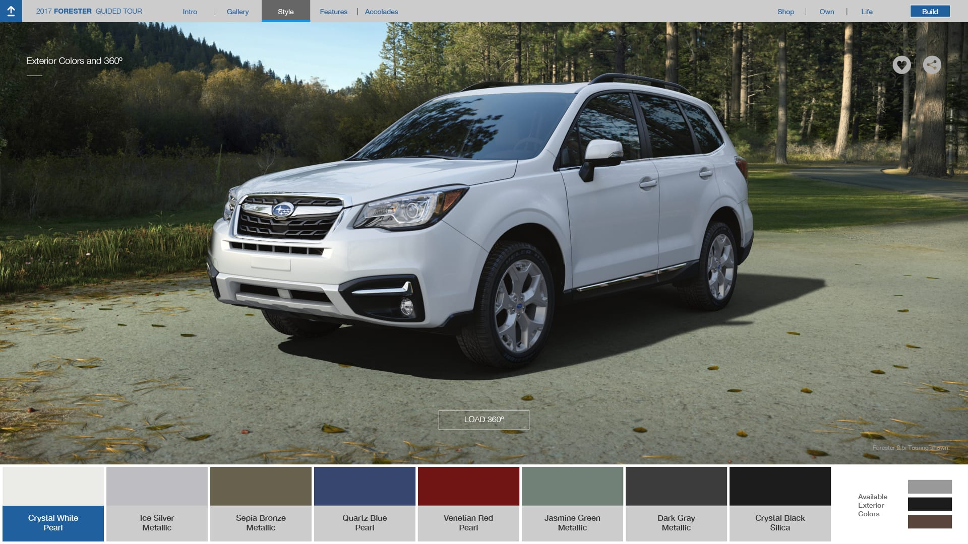 Build Your Own Subaru >> Subaru Forester Colors Options | 2017 Subaru Forester