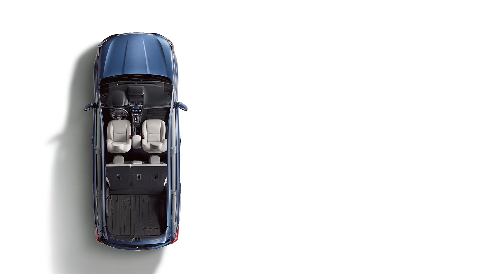 Get extra room in an instant. Standard on Touring trim levels, you can fold down the rear seatback with the simple flip of a switch to accommodate longer items.