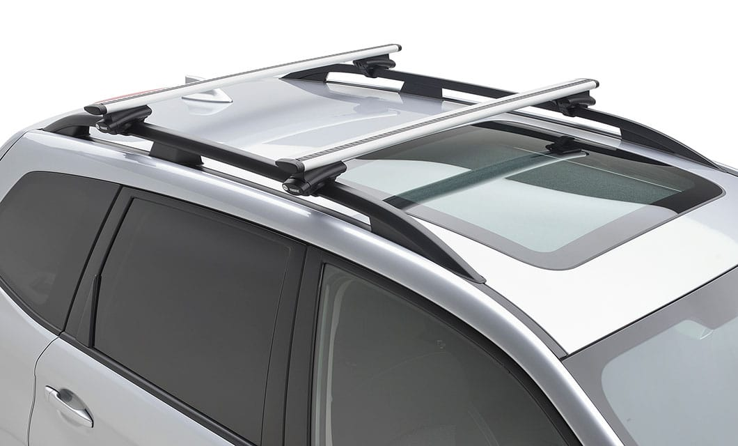 <b>Crossbar Set – Aero Extended</b><br><br>Increase your vehicle's cargo-carrying capabilities by adding a crossbar set. These aero-style crossbars may be used in conjunction with Genuine Subaru roof attachments and carriers.<br>
