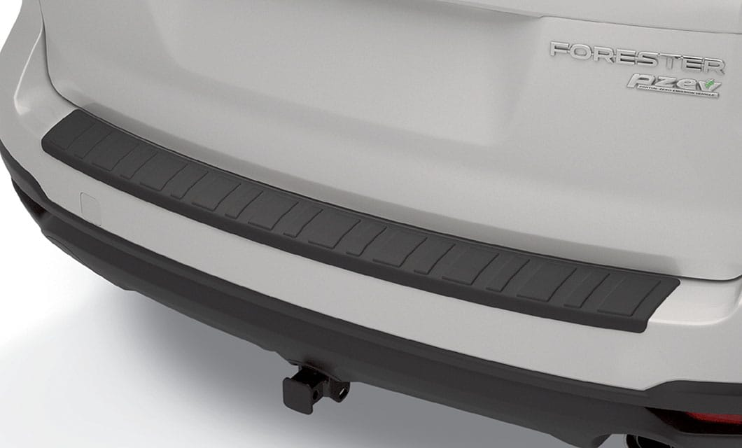 <b>Rear Bumper Cover</b><br><br>Helps protect the upper surface of painted rear bumper from scratches and dings.<br>