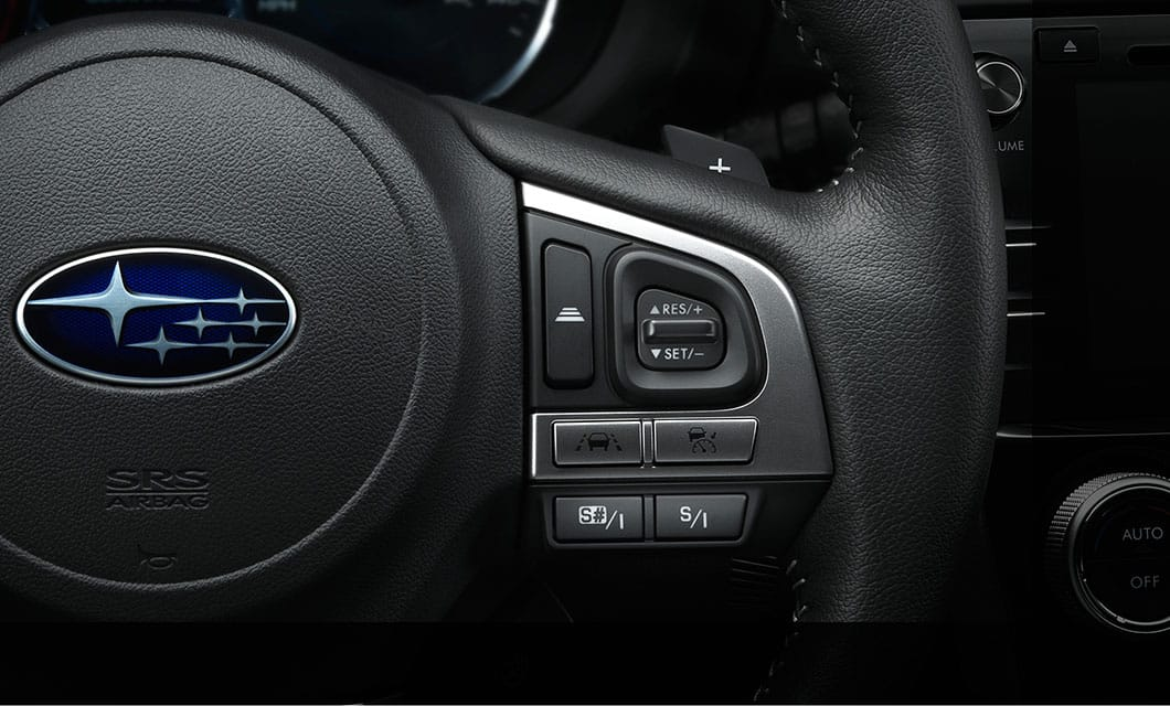<b>High-torque CVT with Manual Modes</b><br><br>Get the most out of your Forester 2.0XT. Its high-torque Lineartronic® CVT ensures you'll have peak performance and optimal MPG at every speed. And its paddle shifters enable you to grab more control when you want it with 6- and 8-speed manual modes<sup>6</sup>.<br>