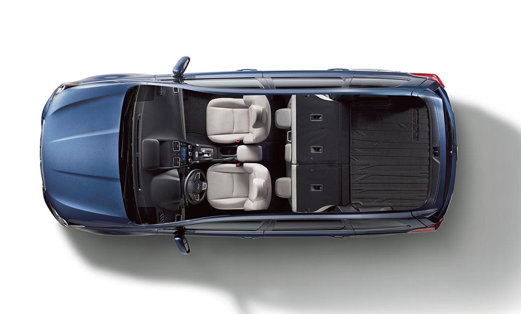 <b>60/40-split Flat-folding Rear Seatbacks</b><br><br>Get extra room when you need it with 60/40-split flat-folding rear seatbacks on every Forester. Standard on Touring trim levels, one-touch folding rear seats let you simply flip a switch to accommodate longer items.<br>