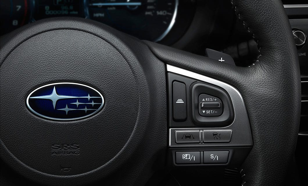<br>Audio and cruise control buttons are all conveniently mounted on the steering wheel of every Forester while the 2.0XT amps up driver engagement with the addition of SI-DRIVE controls and manual mode paddle shifters.<br><br><br>