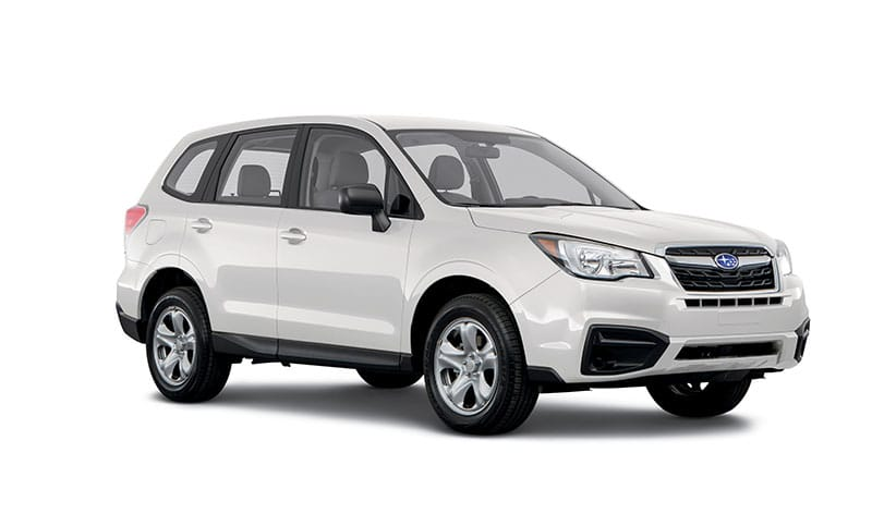 2017 subaru forester trim levels