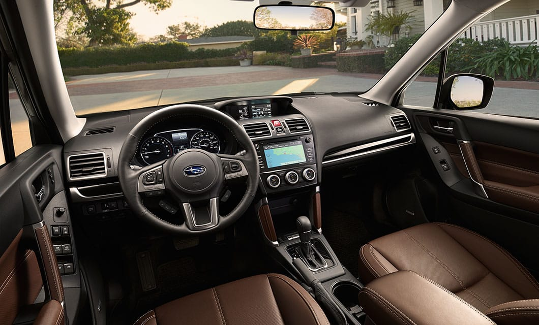 Subaru Technology 2017 Subaru Forester Interior