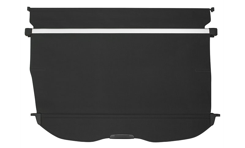<b>Luggage Compartment Cover</b><br><br>Keep items in the back out of sight with this fully retractable, maximum coverage compartment cover.<br>