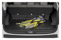 <b>Rear Cargo Tray</b><br><br>Tough, durable tray helps protect cargo area. Can be easily removed and rinsed clean.<br>
