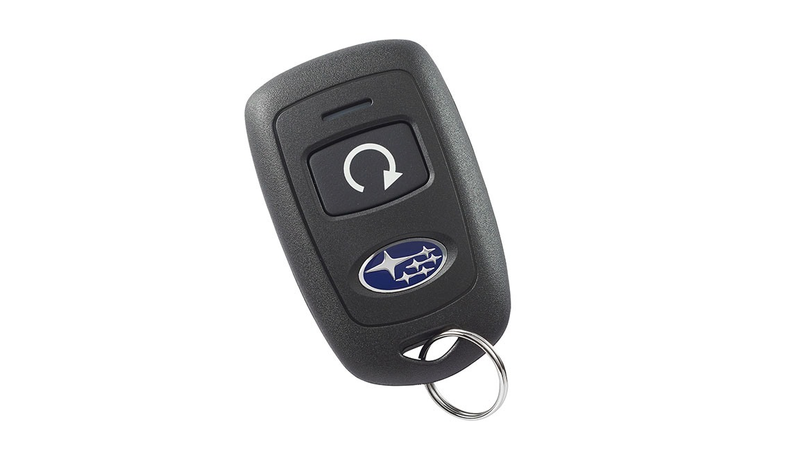 Allows vehicle to be started by pushing a button from the convenience of home or the office (up to 400 feet away depending on obstructions) so that the vehicle's interior temperature is more comfortable upon entry.