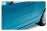 <b>Body Side Moldings</b><br><br>Attractive color-matched moldings coordinate with the styling of the vehicle while helping to protect doors from unsightly dings.