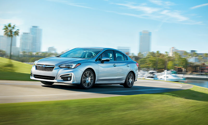 Calm and confident. Since Subaru Impreza is the longest lasting vehicle in its class<sup>10</sup>, you can rest assured that this car will be with you for the long haul.
