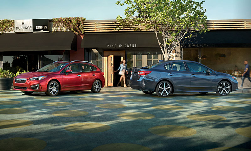 Available as a sedan or 5-door, choose the one that best fits you.
