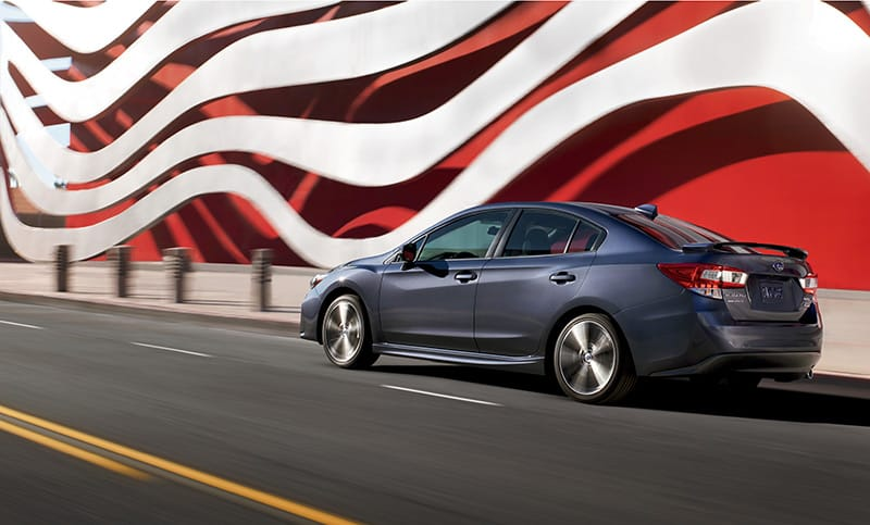 Available as a sedan, the 2018 Impreza 2.0i Sport proves the 5-door 2.0i Sport isn't your only eye-catching option.