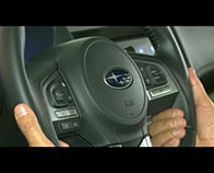 Steering-wheel-mounted controls video