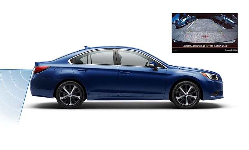 <b>Better Vision</b><br><br>Now available on the 2017 Legacy, High Beam Assist will automatically dim and initiate the high beams as needed.<sup>7</sup> Also when you're backing up, the standard Rear-Vision Camera gives you a clearer view of the area behind your vehicle, so you can be better aware of your surroundings. <br>