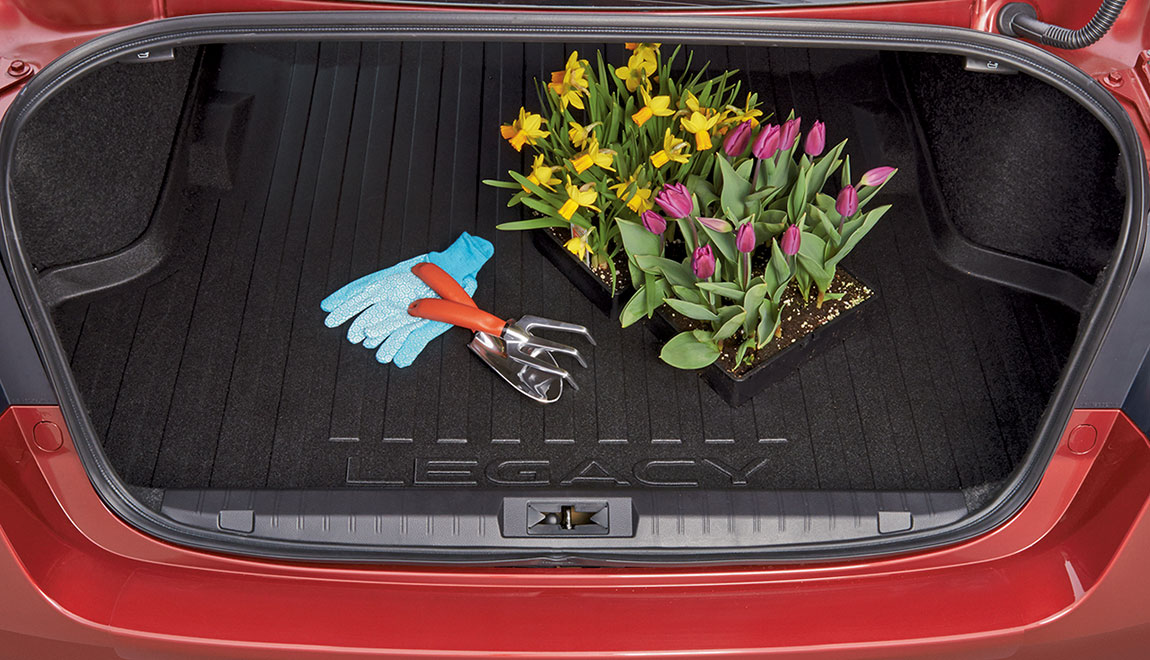 Helps protect trunk area from stains and dirt while providing a surface that helps reduce shifting of cargo while driving.