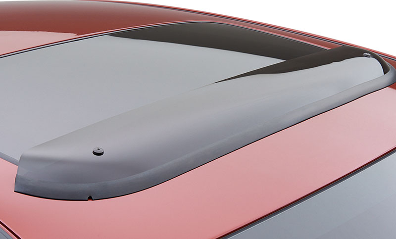 <b>Moonroof Air Deflector</b><br><br>Helps to reduce wind noise and sun glare.<br>