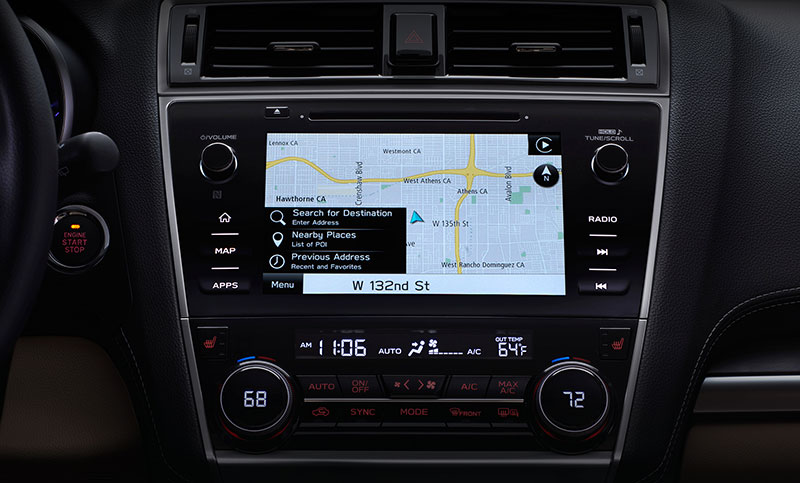 <b>Navigation System</b><br><br>The updated STARLINK<sup>&trade;</sup> Multimedia Navigation System, now powered by TomTom<sup>&reg;</sup>, can help you find that perfect drive. And it's easily accessed through the available 8.0-inch touchscreen.