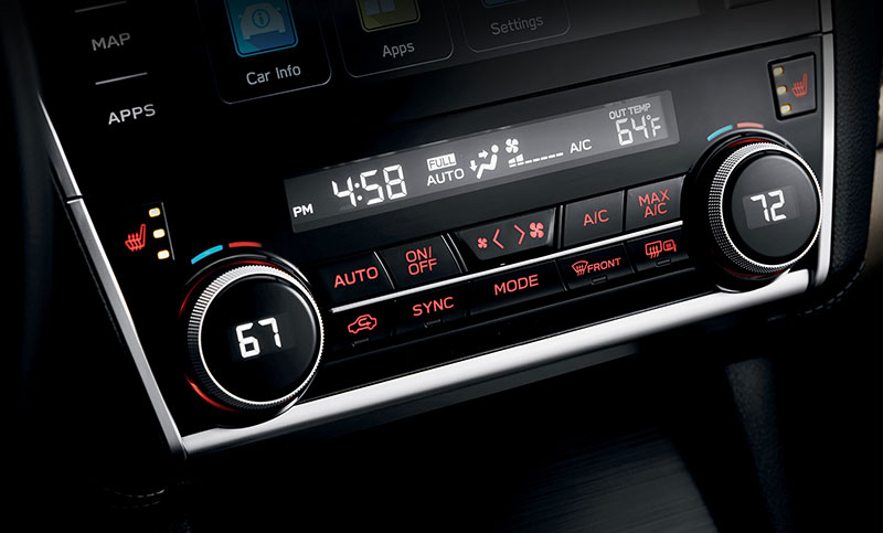 <b>Dual-zone Automatic Climate Control</b><br><br>Available dual-zone automatic temperature controls let you set just the right temperature for both driver and front passenger, while available auto up/down power windows for both driver and front passenger offer instant access to the outdoors.<br>