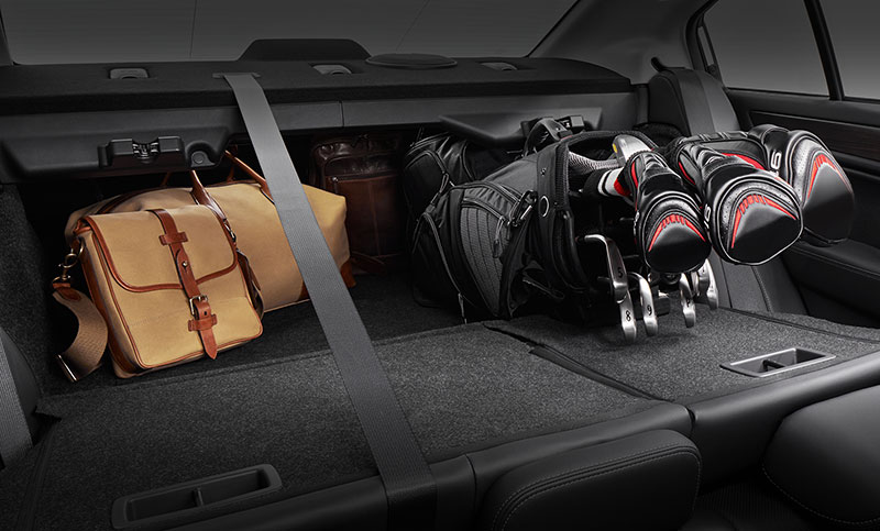 <b>Trunk Space</b><br><br>With 15 cubic feet of trunk space, there's ample room for luggage and groceries. Plus you can adjust the 60/40 rear seats in an instant with a lever from the trunk or a button from the back seat to accommodate longer items and a rear passenger on the same trip.<br>
