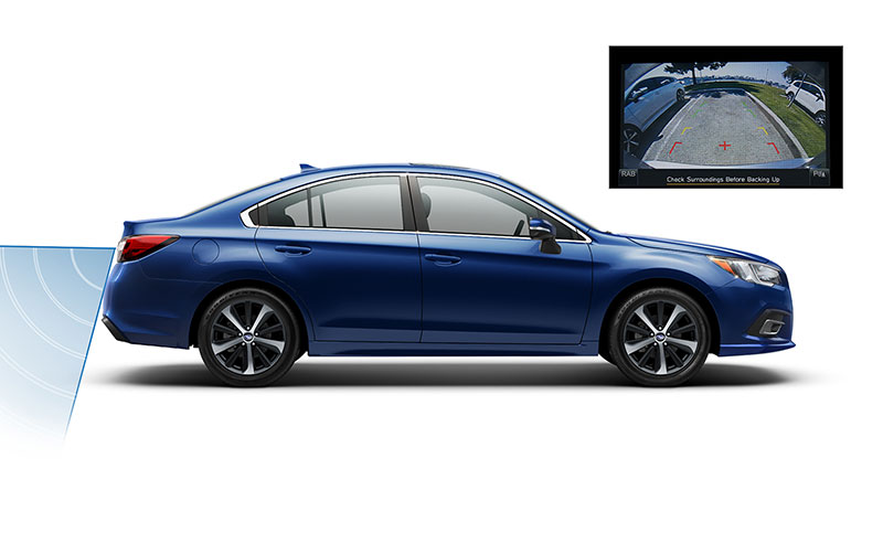 <b>Better Vision</b><br><br>Now available on the 2018 Legacy, LED Steering Responsive Headlights (SRH) adjust as you turn to help you see better around corners. Available High Beam Assist will automatically dim and initiate the high beams as needed for improved visibility.<sup>16</sup> And when you're backing up, the standard Rear-Vision Camera gives you a clearer view of the area behind your vehicle, so you can be better aware of your surroundings.<br>